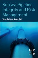 Cover image for Subsea pipeline integrity and risk management