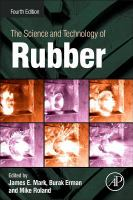 Cover image for The science and technology of rubber