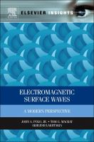 Cover image for Electromagnetic surface waves : a modern perspective