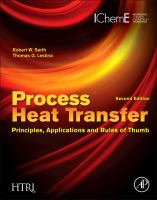 Cover image for Process heat transfer : principles, applications and rules of thumb