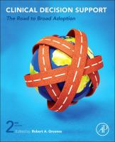 Cover image for Clinical decision support : the road to broad adoption