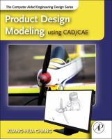 Cover image for Product design modeling using CAD/CAE