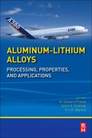Cover image for Aluminum-lithium alloys : processing, properties, and applications