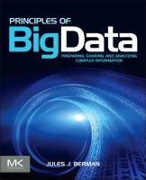 Cover image for Principles of big data : preparing, sharing, and analyzing complex information