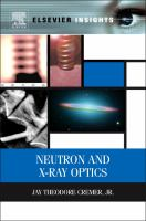 Cover image for Neutron and x-ray optics