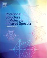 Cover image for Rotational structure in molecular infrared spectra