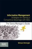 Cover image for Information management : strategies for gaining a competitive advantage with data