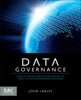 Cover image for Data governance : how to design, deploy, and sustain an effective data governance program