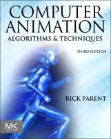 Cover image for Computer animation : algorithms and techniques