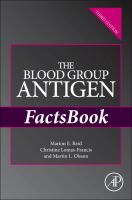 Cover image for The blood group antigen factsbook