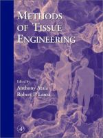 Cover image for Methods of tissue engineering