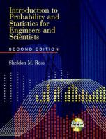Cover image for Introduction to probability and statistics for engineers and scientists