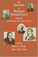 Cover image for The history of modern mathematics