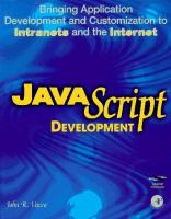 Cover image for JavaScript development