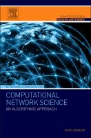 Cover image for Computational network science : an algorithmic approach