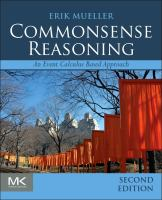 Cover image for Commonsense reasoning : an event calculus based approach