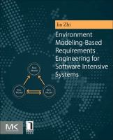 Cover image for Environment Modeling-Based Requirements Engineering for Software Intensive Systems