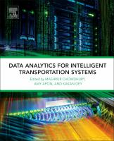 Cover image for Data Analytics for Intelligent Transportation Systems