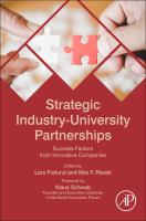 Cover image for Strategic Industry-University Partnerships : Success-Factors from Innovative Companies