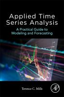 Cover image for Applied Time Series Analysis : A Practical Guide to Modeling and Forecasting