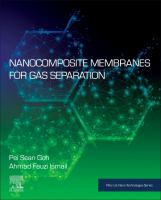 Cover image for Nanocomposite Membranes for Gas Separation