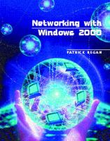 Cover image for Networking with Windows 2000