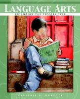 Cover image for Language arts : extending the possibilities