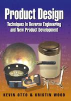 Cover image for Product design : techniques in reverse engineering and new product development