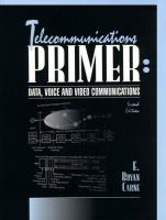 Cover image for Telecommunications primer : data, voice and video communications