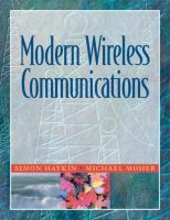 Cover image for Modern wireless communications