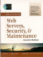 Cover image for Administrating web servers, security and maintenance