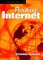 Cover image for Routing in the internet