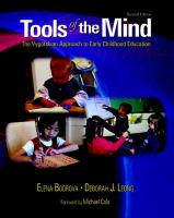 Cover image for Tools of the mind : the Vygotskian approach to early childhood education