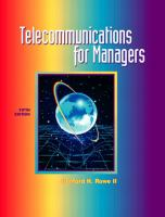 Cover image for Telecommunications for managers