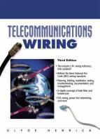 Cover image for Telecommunication wiring