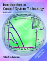 Cover image for Introduction to control system technology