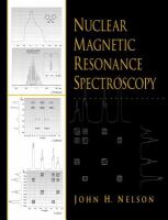 Cover image for Nuclear magnetic resonance spectroscopy