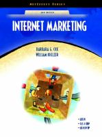 Cover image for Internet marketing