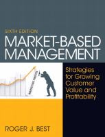 Cover image for Market-based management : strategies for growing customer value and profitability