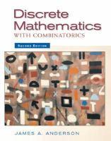 Cover image for Discrete mathematics with combinatorics