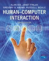 Cover image for Human-computer interaction