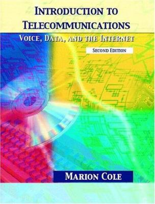 Cover image for Introduction to telecommunications : voice, data, and the internet