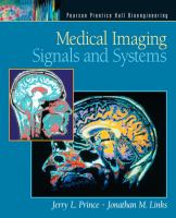 Cover image for Medical imaging signals and systems