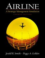 Cover image for Airline:  a strategic management simulation