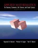 Cover image for Applied mathematics : for business, economics, life sciences, and social sciences