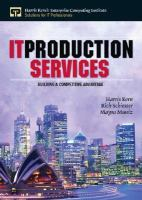 Cover image for IT production services