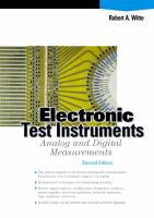 Cover image for Electronic test instruments