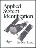 Cover image for Applied system identification