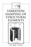 Cover image for Vibration damping of structural elements