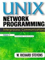 Cover image for UNIX network programming